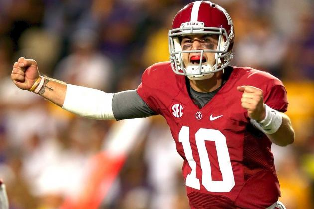 Breaking Down A.J. McCarron's NFL Potential, Draft Stock