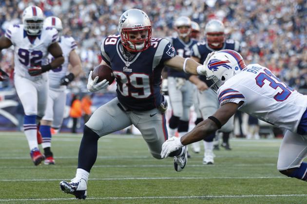 Danny Woodhead: Is Patriots RB Worth a Fantasy Pickup?