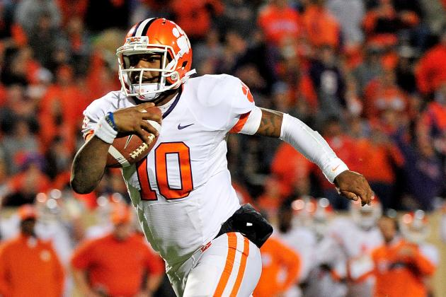 "Clemson QB Tajh Boyd Says His Future Is ""'Up in the Air""'"