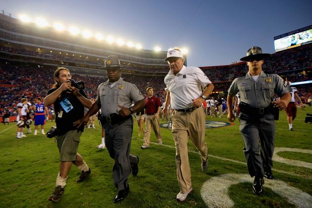 Spurrier on the Verge of Leading USC in Coaching Wins