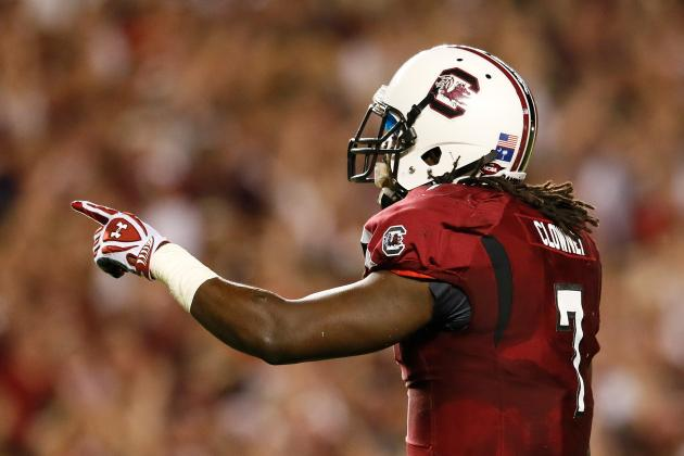 Clowney, Shaw Playing with Lingering Foot Injuries