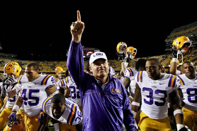LSU Coach Les Miles Said SEC Champion Should Play for BCS Title