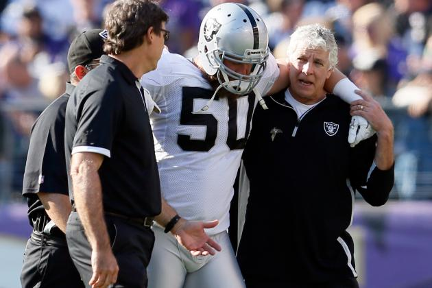 Oakland Raiders Lose Travis Goethel for the Season