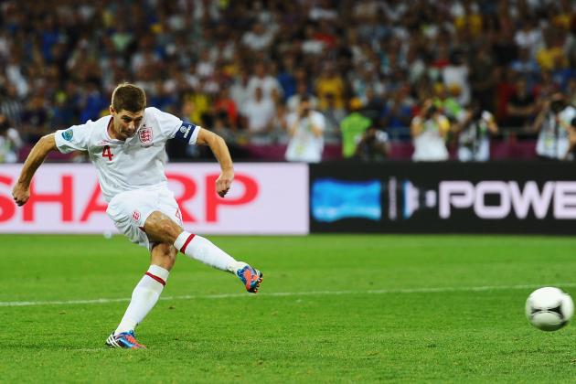 Where Does Steven Gerrard Fit in England's 100 Cap Club?