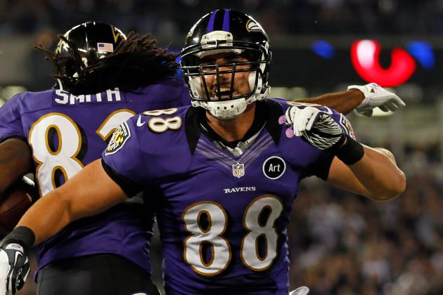 Suggs Likens Dennis Pitta to 'Unicorn, Minotaur'