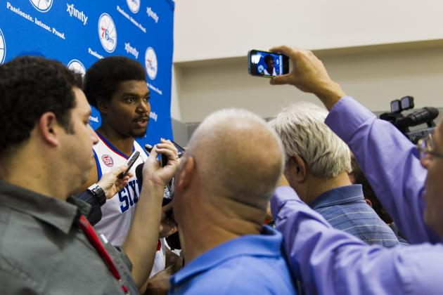 For 76ers, Business as Usual Means No Andrew Bynum