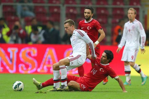 Denmark, Turkey Draw 1-1 in Friendly in Istanbul