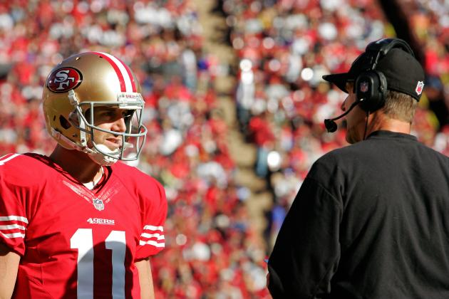 Report: 49ers Feel 'Pretty Good' Alex Smith Will Start vs. Chicago