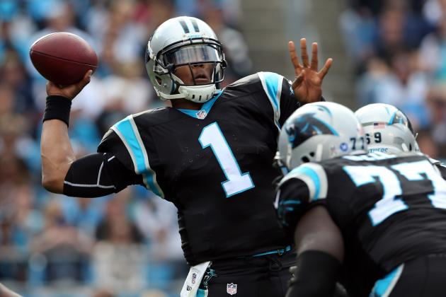 Panthers QB Cam Newton Puts on a Show Worthy of Kids' Respect
