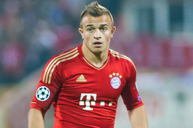 Soccer-Shaqiri fires Swiss to injury-time win in Tunisia