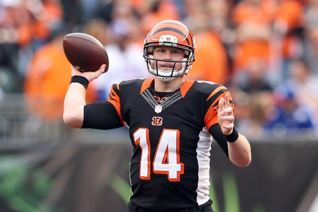 Andy Dalton Is Your AFC Offensive Player of the Week