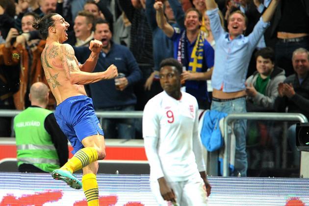 Ibrahimovic's Stunning Overhead Kick Caps Incredible Performance vs. England