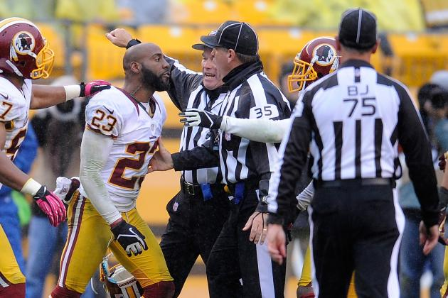 Redskins CB DeAngelo Hall Fined $30K for Altercation with Official