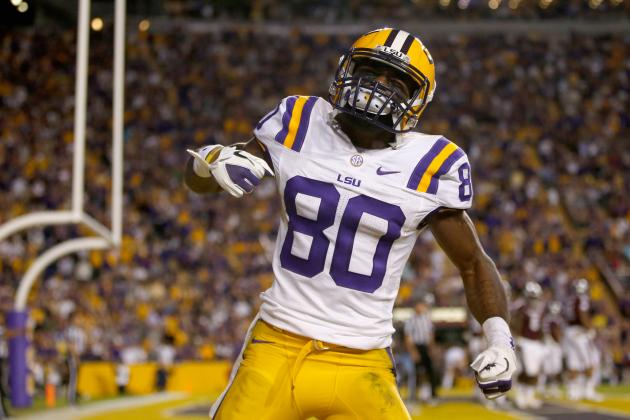 LSU Wide Receiver Jarvis Landry Is Playing for His Team and Family