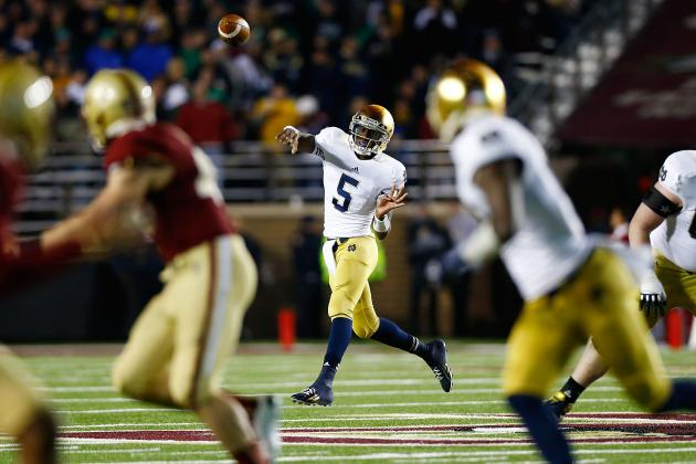 Notre Dame Football: Predicting Every Game for Rest of Season