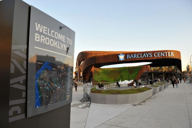 First Impressions of Barclays Center, the Brooklyn Nets' New Palace