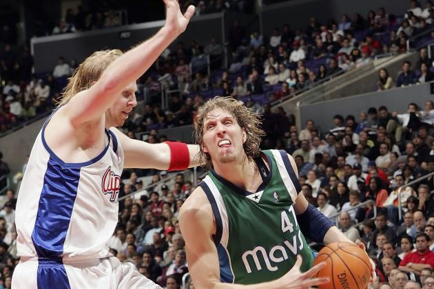 How Well Can Dirk Nowitzki and Chris Kaman Work Together Once Healthy?