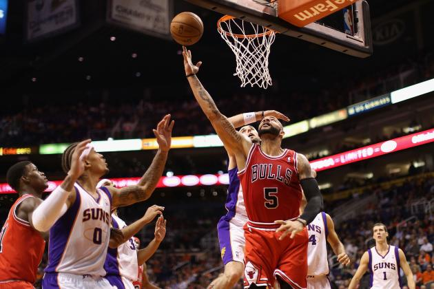 Carlos Boozer Wins NBA Player of the Night After Leading Bulls Past Suns