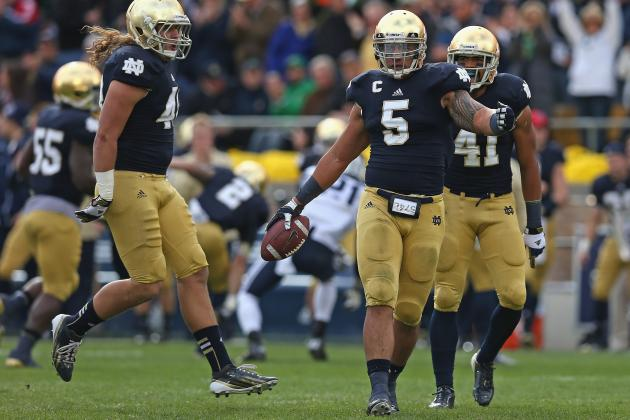 Why Notre Dame Is No. 3 in the BCS: Pitt, Purdue and BYU