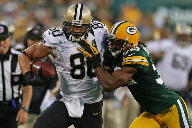 Week 11 Fantasy Football: Top 25 Tight Ends in Standard-Scoring Leagues