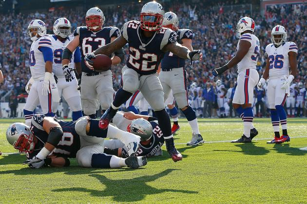 Breaking Down the New England Patriots' Revitalised Running Game