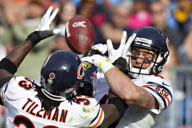 Chicago Bears Are NFL's Best at Scoring When Offense Is Not on the Field