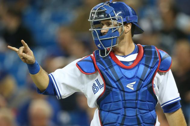 MLB Trade Rumors: Is J.P. Arencibia the Next to Go?