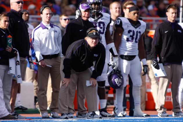 Patterson Has No Reason to Leave TCU