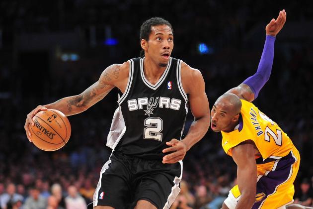 Four Spurs Make All-Star Ballot