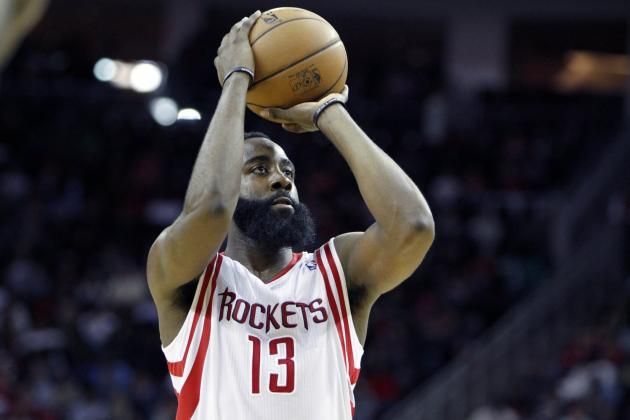Harden, Rockets Hold off the Hornets