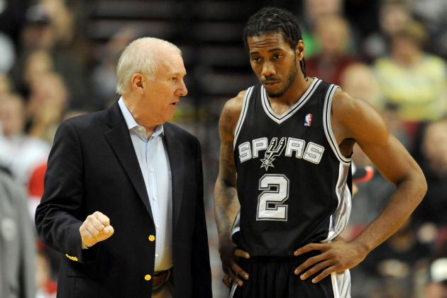 Leonard Developing into 'Sponge' for Spurs