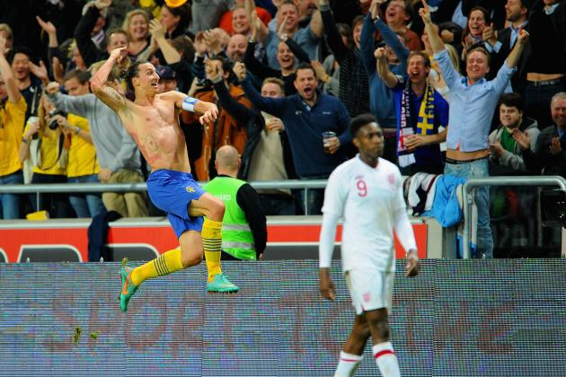 England vs. Sweden: Zlatan Ibrahimovic's Goal Ranks Among All-Time Best