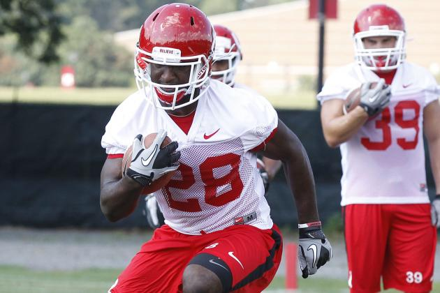 Rutgers' Savon Huggins Ready to Deliver If His 'Number' Is Called