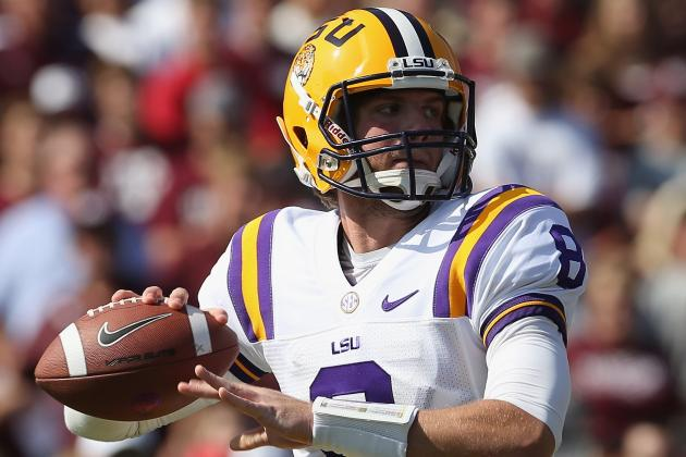 LSU Football: Zach Mettenberger's Rise Right on Time for Tigers