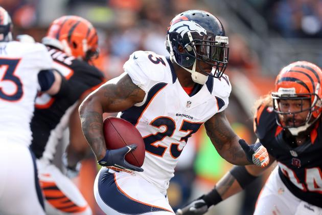 Willis McGahee's Must Focus on Ball Security and Other AFC West News