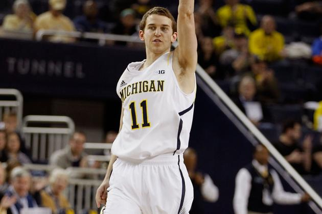 Michigan Freshman Nik Stauskas Maximizes Playing Time