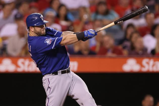Agent: Mike Napoli Open to Return to Rangers, but Other Clubs Interested