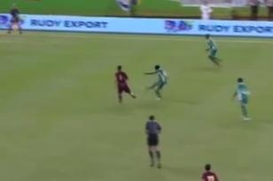 Nigeria's Nosa Igiebor Scores a Stunning 30-Yard Half-Volley