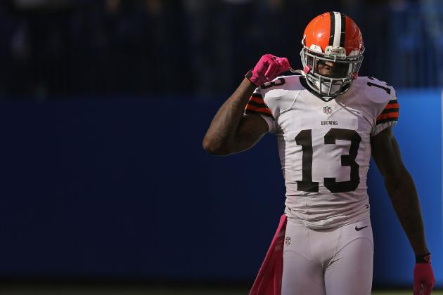 Browns WR Josh Gordon Fined $20K for Blindside Hit vs. Ravens