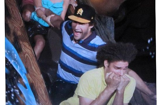 Robin Lopez Deathly Scared of Disneyland's Splash Mountain Ride