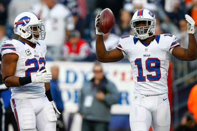 Donald Jones: Buffalo Bills WR Fantasy Football Sleeper for Week 11 and Beyond