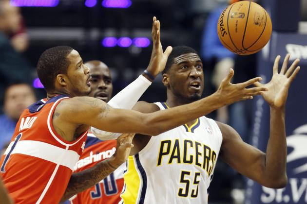 Roy Hibbert, Pacers Are Struggling Mightily in the Face of Expectations