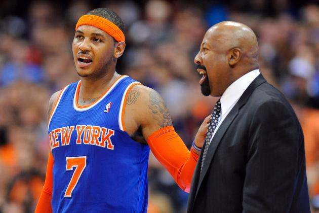 Mike Woodson Will Deserve Coach of the Year for Igniting Carmelo Anthony
