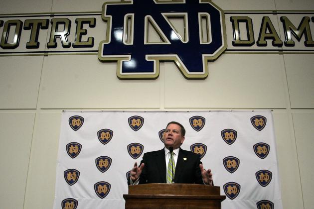 How Notre Dame's 2013 Recruiting Class Stacks Up Against Rest of BCS Top 5