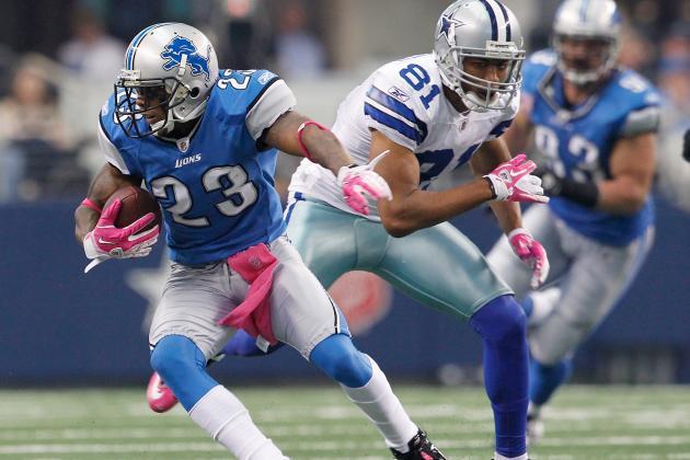 Lions Practice Report: Chris Houston, Calvin Johnson Back on the Field