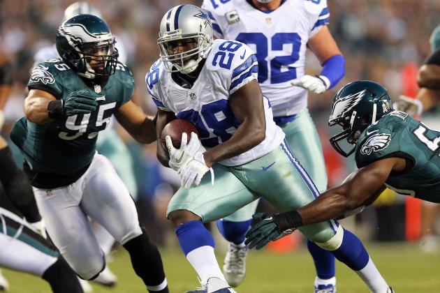 DeMarco Murray: RB's Status Makes Felix Jones a Must-Start vs. Browns