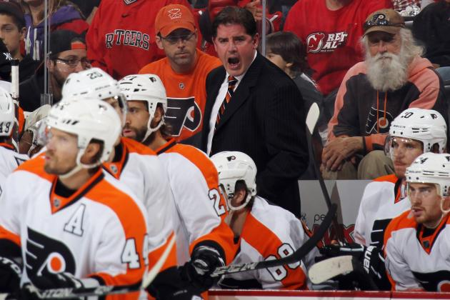 Is Philadelphia Flyers Coach Peter Laviolette Too Fiery for His Own Good?
