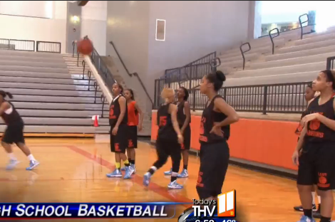 High School Girl's Basketball Team Delivers Amazing Shutout to Opponent