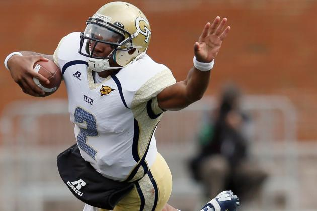 Vad Lee Emerging as Georgia Tech's Top Quarterback