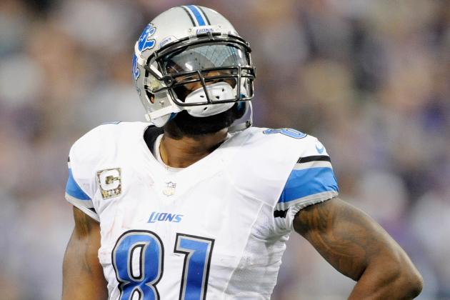 Calvin Johnson Wants More Production from His Fellow Receivers